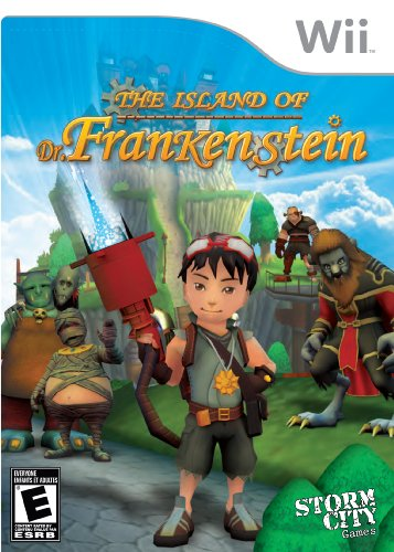 [Wii] The Island of Dr. Frankenstein [ENG][NTSC] (2009)