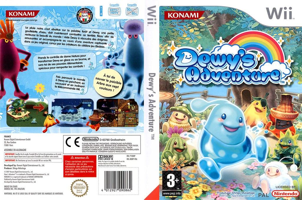 [Wii] Dewy's Adventure [ENG][NTSC] (2007)