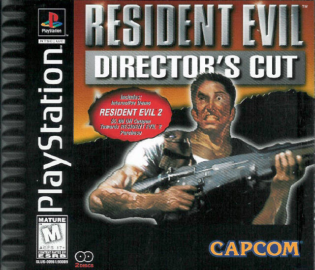 Resident Evil Director's Cut (1997/PS1/Rus)