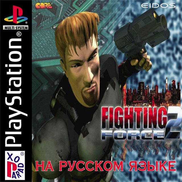[PS]Fighting Force 2 [1999, Rus, TPS / Action]