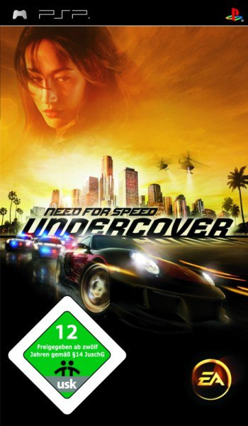 Need for Speed: Undercover (2008) PSP