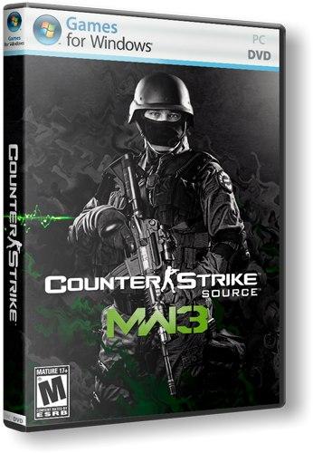 Counter Strike Source Modern Warfare 2(CS:S MW2) v34 No-steam