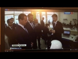 Д. А. Медведев в IT-лицее КФУ