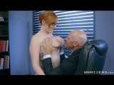 Lauren Phillips The New Girl Part 1  Big Tits Worship Blowjob POV Redhead Secretary Tittyfuck Work Fantasies