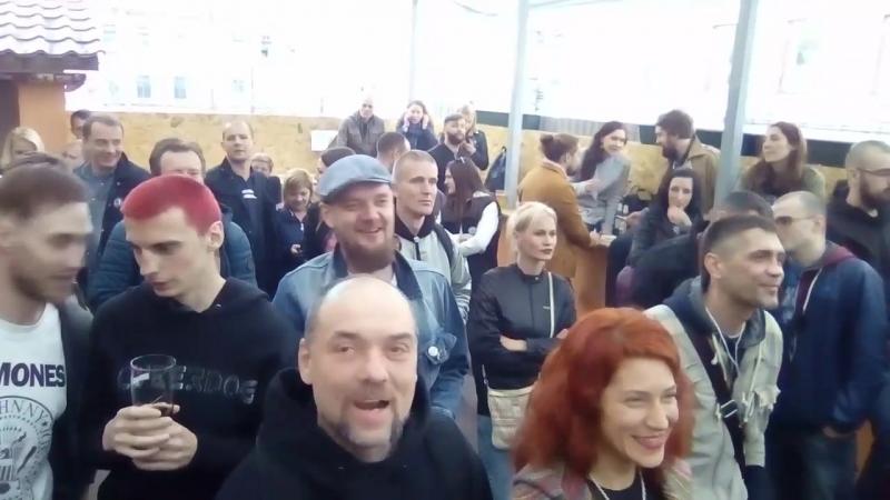 клуб MOD группа FPG с песнями В.Цоя и Мы...
