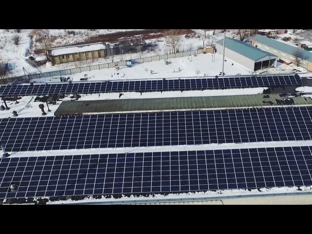 Укртрансгаз запустив сонячну електростанцію
