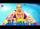 🌸ЧЕЛЛЕНДЖ в бассейне Найди в воде Сюрпризы ТУЗИС Grossery Gang Pool Challenge TWOZIES Surprises