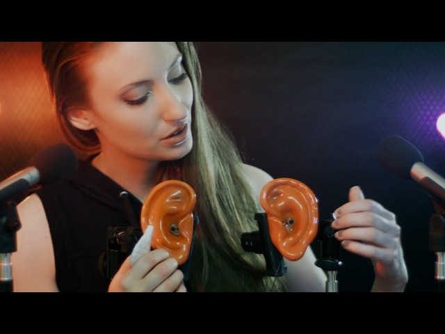 ASMR Colour Changing Ears: Binaural, Tapping, Sponge, Latex, Plasticine and Cotton Swabs