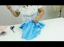 Как сшить юбку брюки или кюлоты своими руками Построение выкройки от юбки четверть солнце Часть 2