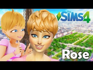 FIZ A ROSE THE SIMS 4 | MIRACULOUS LADYBUG CAT NOIR