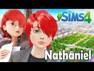 FIZ O NATHANIEL THE SIMS 4 | MIRACULOUS LADYBUG CAT NOIR