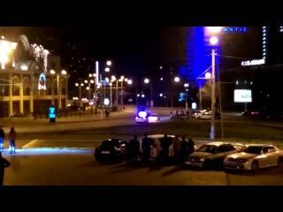 Погоня по встречке.   Police chasing the car - it's so funny (16 april, 2016) Odessa, Ukraine