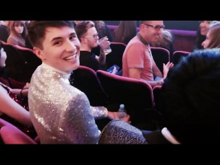 Dan and Phil in TomSka's Vlog (2016 BONCAs)