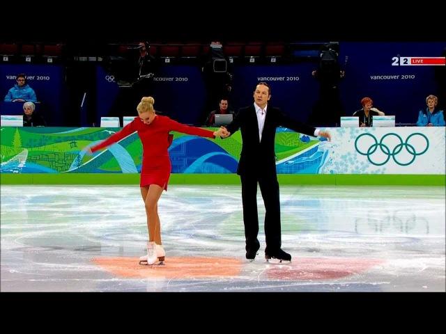 Oksana Domnina Maxim Shabalin. SD (Tango Romantica). 2010 Vancouver Olympics