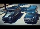 Почему не надо покупать гелик Mercedes AMG G63 vs G55, сравнение и полный разбор вместе с BMW X5M