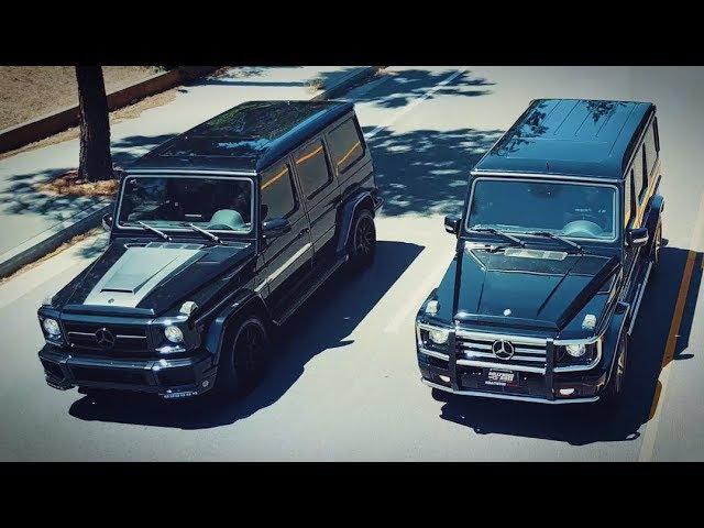 Почему не надо покупать гелик Mercedes AMG G63 vs G55 сравнение и полный разбор вместе с BMW X5M