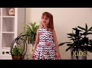 Видео визитка Участница КРИСТИНА Коваленко Celebrity Kids 2017 Spb конкурс красоты и та