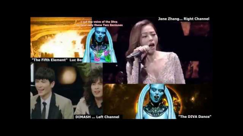 Fantastic DUO 2 Dimash Kudaibergen Jane Zhang The Diva Dance (from the Fifth Element)
