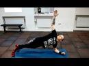 Как укрепить мышцы спины дома! Комплекс упражнений от Виктора Блуда