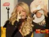 Carrie Underwood Flat On The Floor Good Morning America