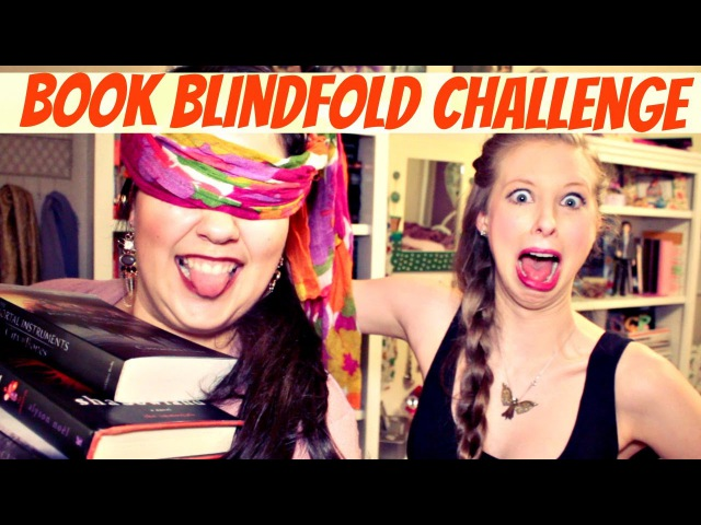 Blindfolded Book Challenge with xtineMAY