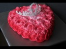 торт Сердечко с короной Herz für die Prinzessin Torte