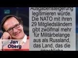 NATO hat in 68 Jahren keine friedliche Welt geschaffen sagt Friedensforscher Jan Oberg 20170704