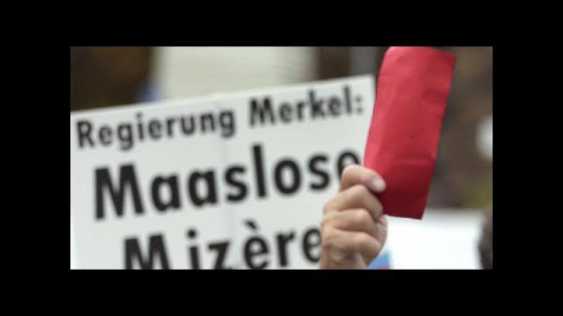 Jezt reicht´s mir.. Deutscher mit Eier in der HOSE liest MerkelRegime die Leviten von VolxTribun