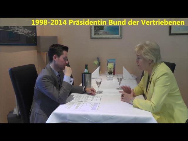 Steinbach rechnet gnadenlos mit Merkel´s CDU SündenRegister von Sandt hakt nach