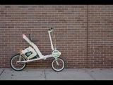 The Etta semi-recumbent cargo bike designed by Nick Foley