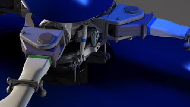 EC145 Swashplate animation