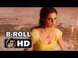 BEAUTY AND THE BEAST B-Roll Bloopers Footage #2 (2016) Emma Watson Disney Movie HD