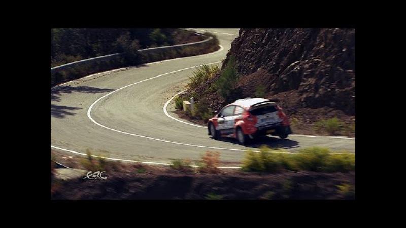 FIA ERC - CNP Asfalistiki Cyprus Rally 2016 - The Lukyanuk Show on SS5