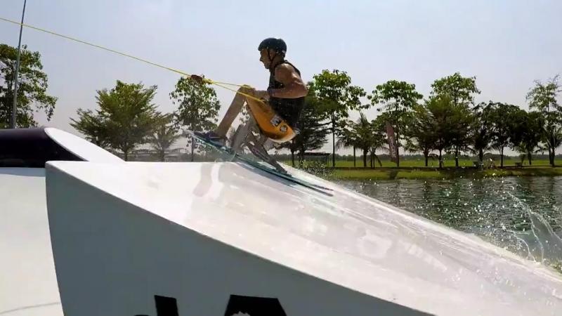 Emanuele Meme Pagnini Adaptive Wakeboarding