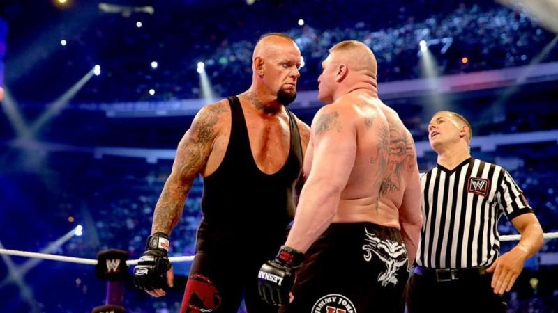 WWE Brock Lesnar vs The Undertaker Wrestlemania 30