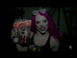 F R E A K I N G  Sasha Banks becomes a WWE Zombie to terrify Raw Superstars