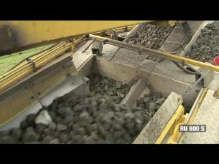 Как работает гигантская машина по замене железнодорожных путей