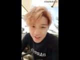 Kang Sung Hoon - INSTA Live 20170701 (eng sub)