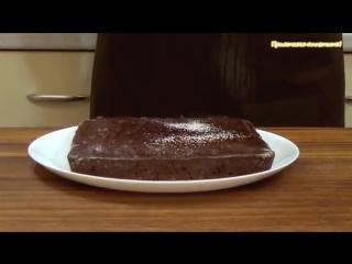 Манник шоколадный постный