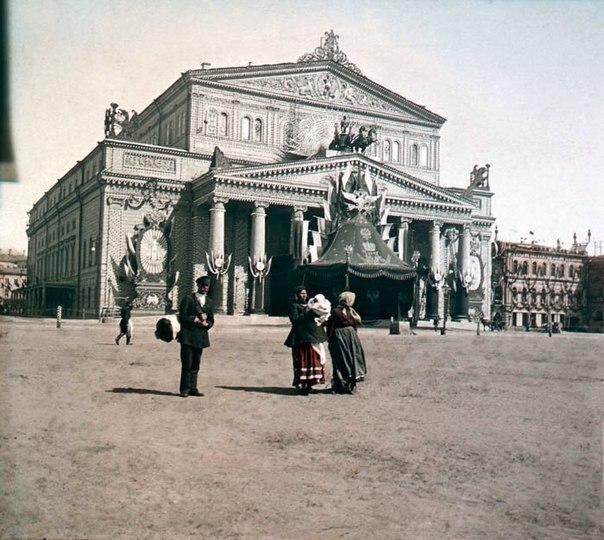 Дореволюционная снимок Большого Театра,1896 год.