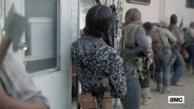 Бойтесь ходячих мертвецов / Fear the Walking Dead.3 сезон.Трейлер второй половины сезона (2017)