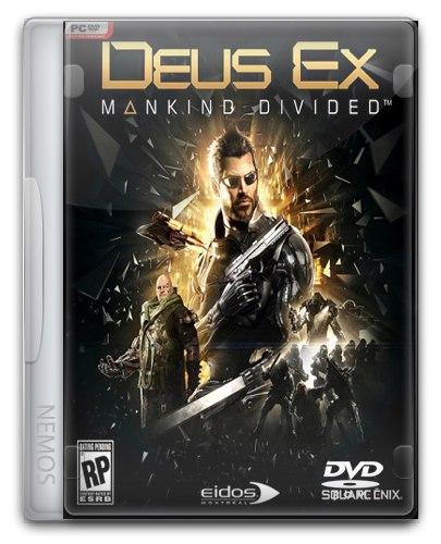 Deus Ex: Mankind Divided - Digital Deluxe Edition (2016) PC   RePack от =nemos=