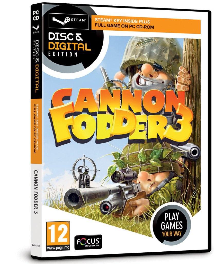 CANNON FODDER 3 (BURUT CREATIVE TEAM) (ENG) [L]