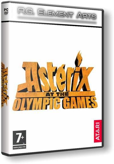 Астерикс на олимпийских играх / Asterix at the olympic games (2007) PC | RePack