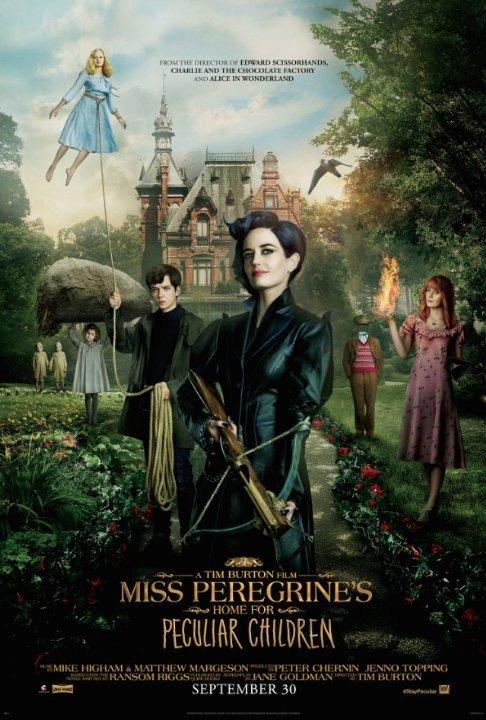 Дом странных детей Мисс Перегрин / Miss Peregrine's Home for Peculiar Children (2016) HDRip от MegaPeer | Лицензия