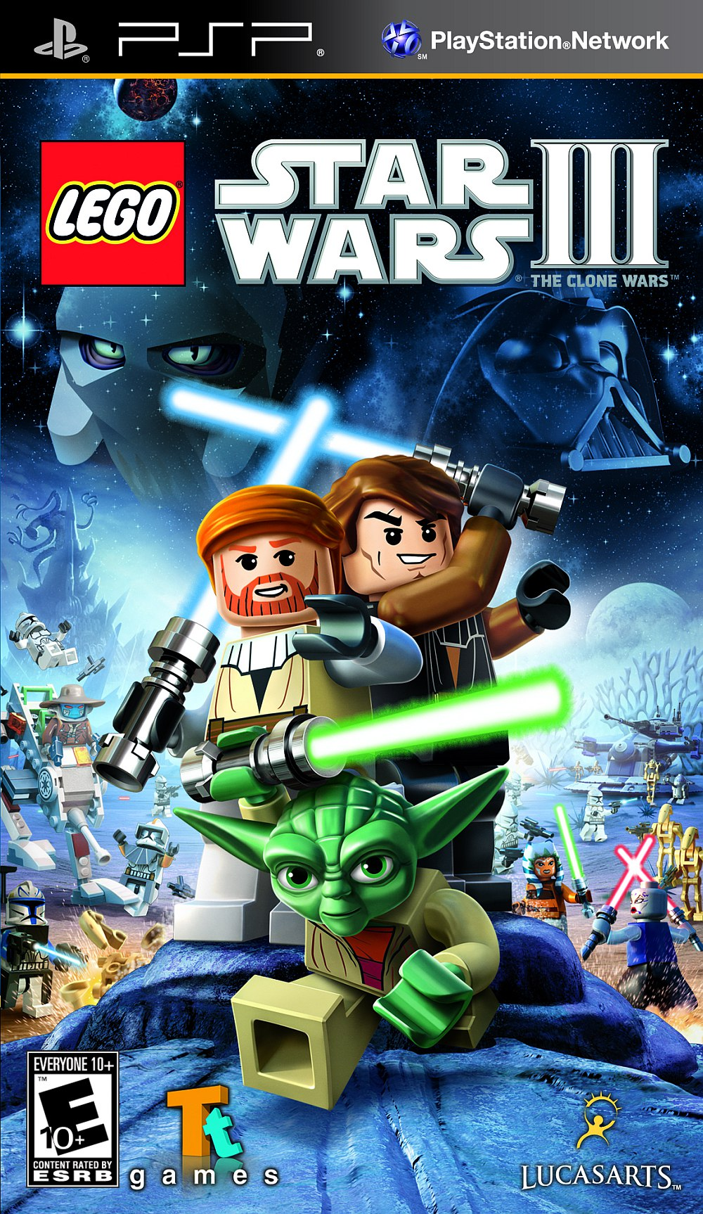 [PSP]LEGO Star Wars III: The Clone Wars
