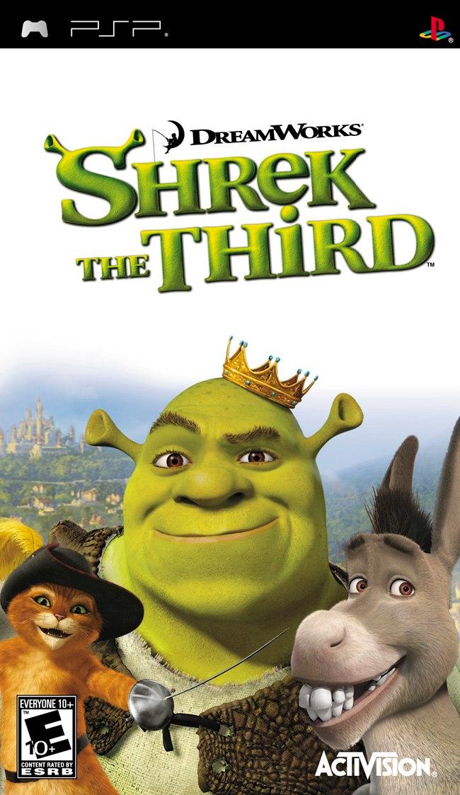 [PSP]Shrek the Third (2007)[FULL][ISO][ENG]