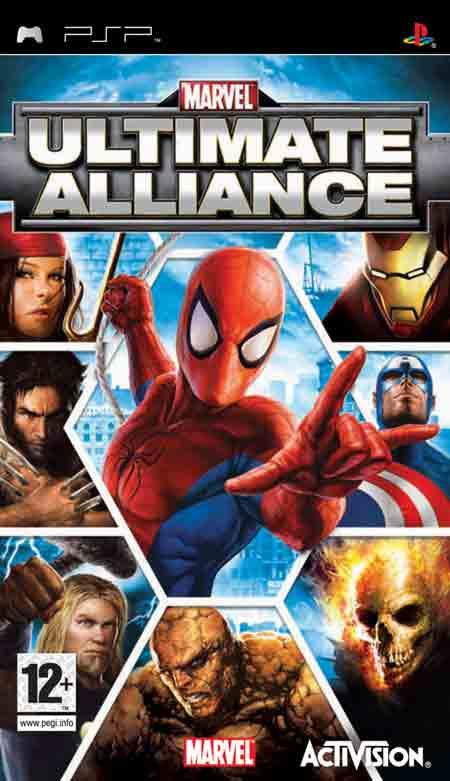 [PSP]Marvel Ultimate Alliance [FULL][CSO][ENG]