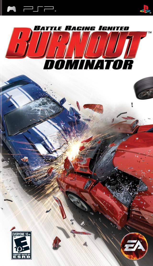Burnout: Dominator (2007) PSP