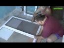 Ремонт кухни своими руками 3-й этап Установка пластикового окна
